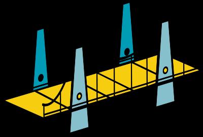 Bridge to the Internet Logo