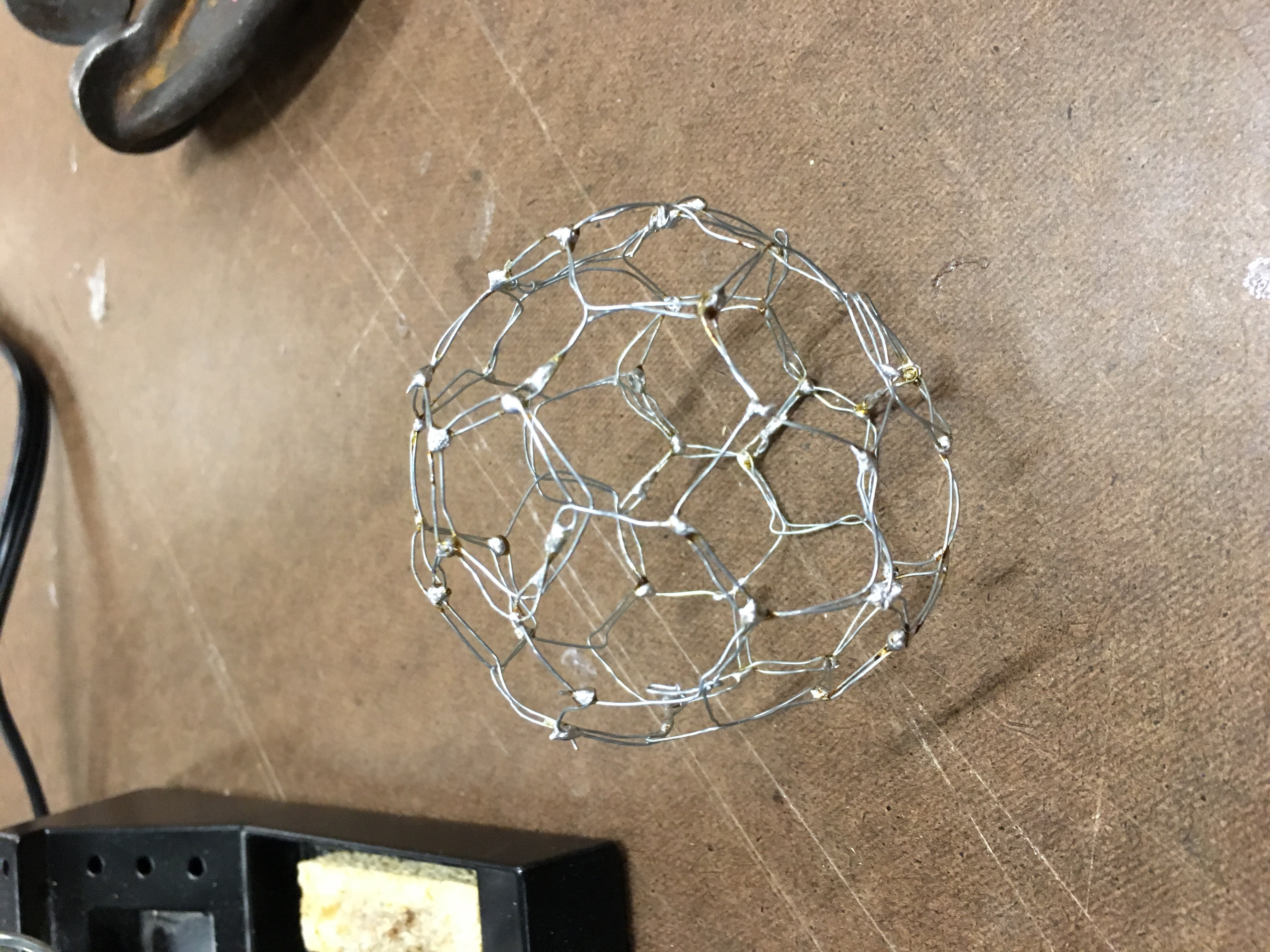 image of completed truncated icosahedrons