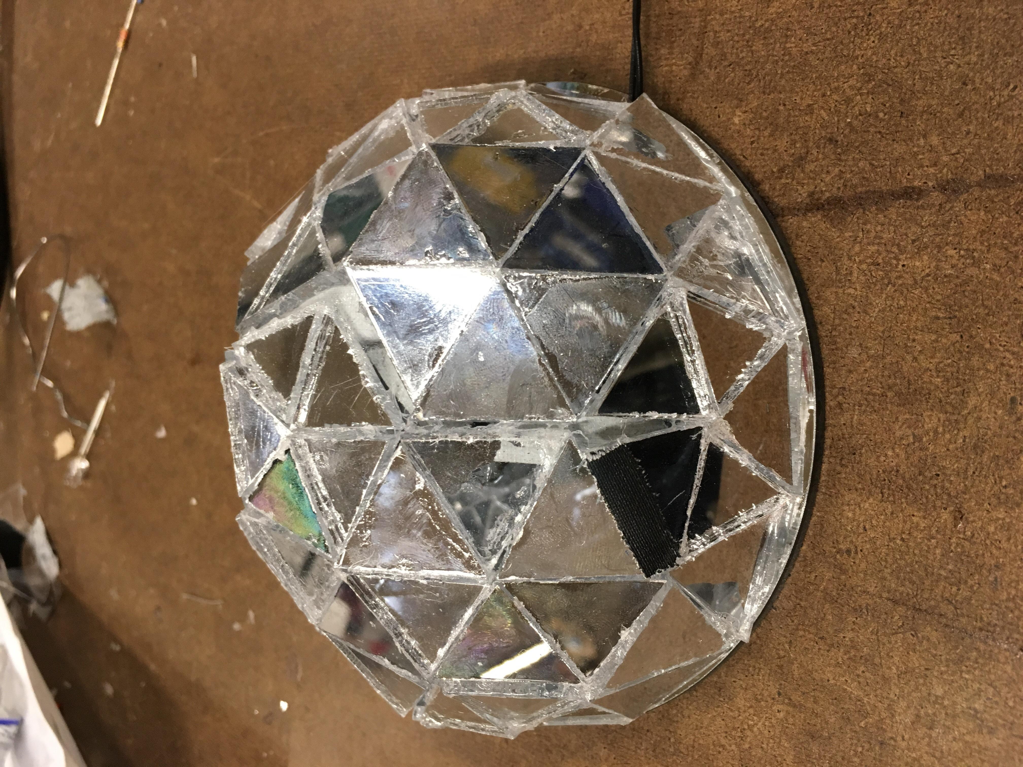 Geodesic Infinity Mirror