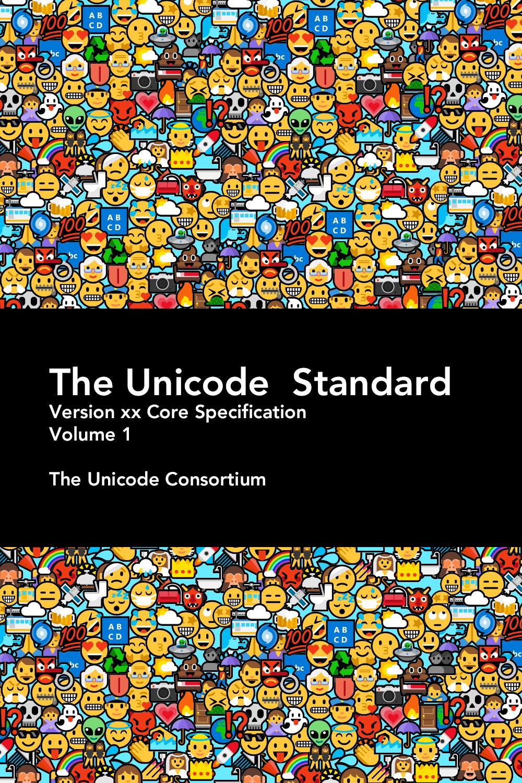 emoji cover of unicode standard.